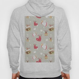 Christmas Elements Design Pattern 2 Hoody