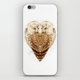 Owl Heart iPhone Skin
