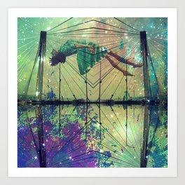 Bridging Time Art Print