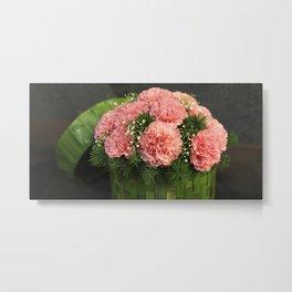 Box of Carnations Metal Print