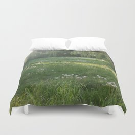 Lawn Wishes Duvet Cover
