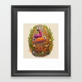 Slug Buddy Framed Art Print
