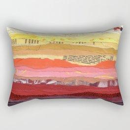 Sunset on Tuesday Rectangular Pillow