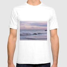 Pastel Ocean Moonrise T-shirt
