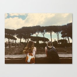 Backpacking Vibes Canvas Print