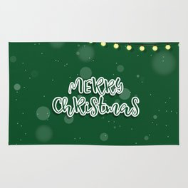 Happy new year sale sign banner card Rug