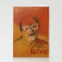 rothko Stationery Cards featuring 50 Artists: Mark Rothko by Chad Beroth