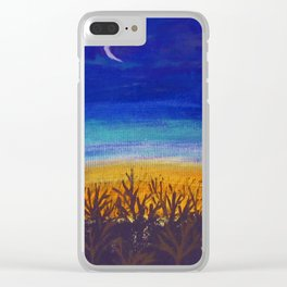 October Clear iPhone Case