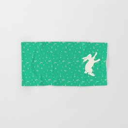 Running Bunny Hand & Bath Towel
