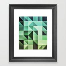 :: geometric maze III :: Framed Art Print
