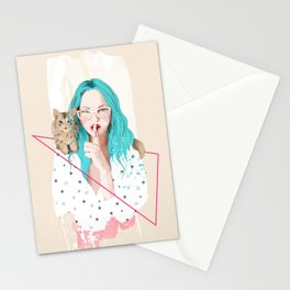 Shhh... Stationery Cards