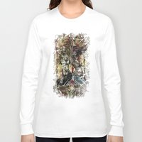 spice Long Sleeve T-shirts featuring Sugar & Spice by Jay Allen Hansen