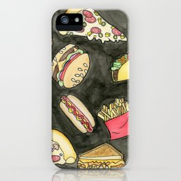 Snacks iPhone Case