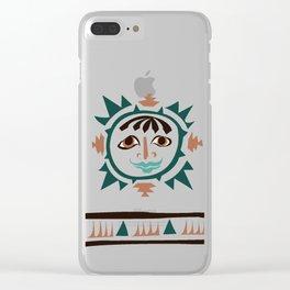 Earth -4 elments Clear iPhone Case