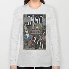House Numbers Long Sleeve T-shirt