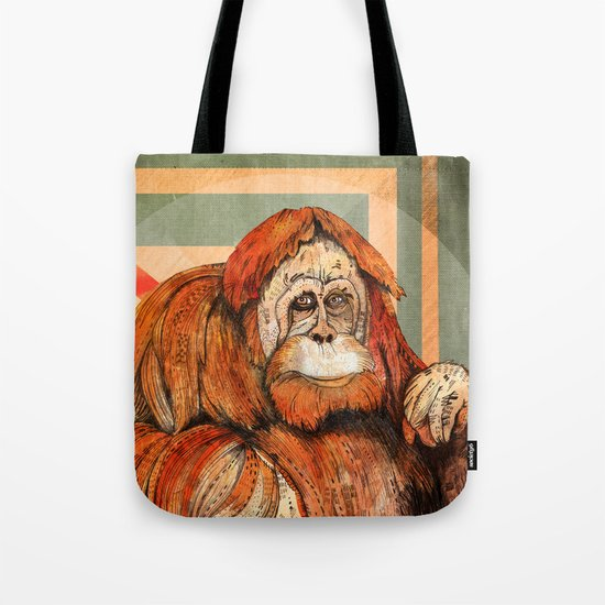 Mr. Orangutan Tote Bag