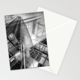 Canary Wharf Tower Abstracts Stationery Cards