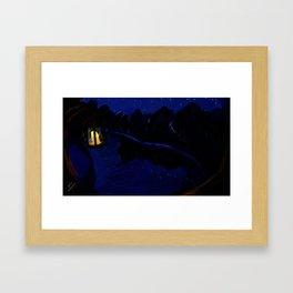 Landscape(Night) Framed Art Print