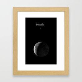Imbolc Framed Art Print