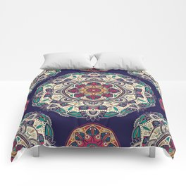 Colorful Mandala Pattern 007 Comforters