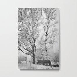 Pt. Iroquois Winter Metal Print