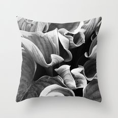 Leafing on the Midnight Train Throw Pillow