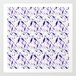 Pattern Fish Art Print