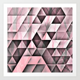 Pink's In Art Print