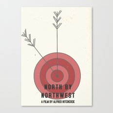North by Northwest #1 Canvas Print