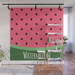Summer Watermelon Wall Mural