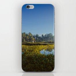 Sunrise over rice fields in Ubud, Bali. iPhone Skin