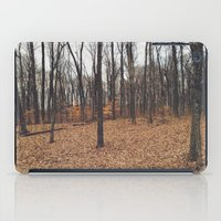 indiana iPad Cases featuring Indiana Forest by Kurt Rahn