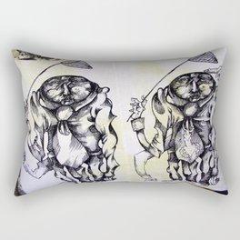Inquisitive Netters Rectangular Pillow
