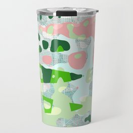 Watermelon Splat Matrix Travel Mug