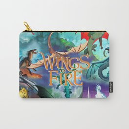 Wings Of Fire Painting Carry-All Pouch