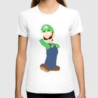 luigi T-shirts featuring Luigi by Valiant