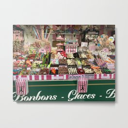 Candy Stand Metal Print