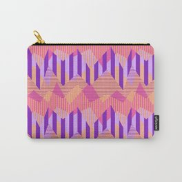 ZigZag All Day - Pink Carry-All Pouch
