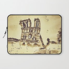 Cathedrale Notre-Dame Laptop Sleeve
