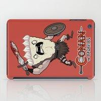 conan iPad Cases featuring Conan The Bavarian by Bobby Baxter
