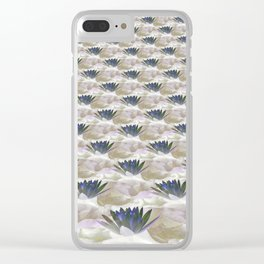Lilies in the Clouds Fractal - IA Clear iPhone Case