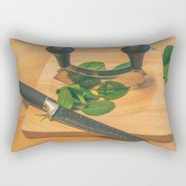 Chopped. Rectangular Pillow