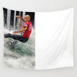 Kelly Slater Surfing Wall Tapestry