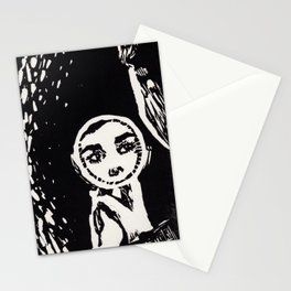 Audrey Hepburn w/ Mirror Stationery Cards