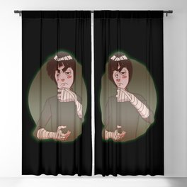 Rock Lee Drunken Fist v.1 Blackout Curtain
