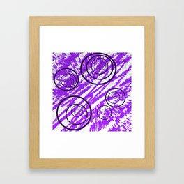 Spin Me in Circles Framed Art Print