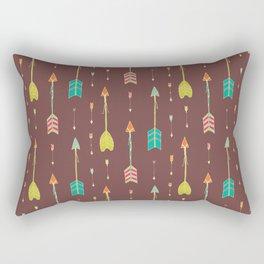 Bohemian hand drawn arrows, 02 Rectangular Pillow