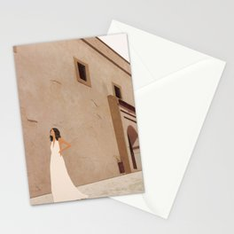 New White Dress II Stationery Cards