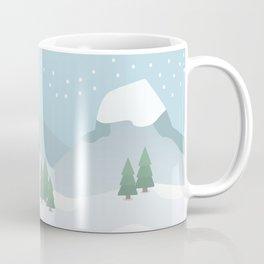 Winter in the mountains Coffee Mug