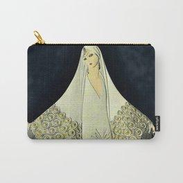 """""""June Bride"""" Art Deco Illustration by Erté Carry-All Pouch"""